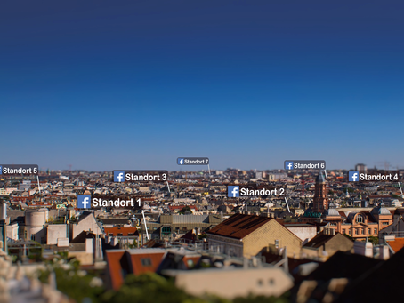 Wie Unternehmen mit Facebook Standorten regional zum King werden.
