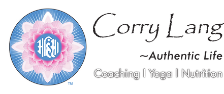 Corry Lang - Authentic Life Logo