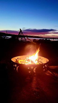 bonfire sunset.JPG