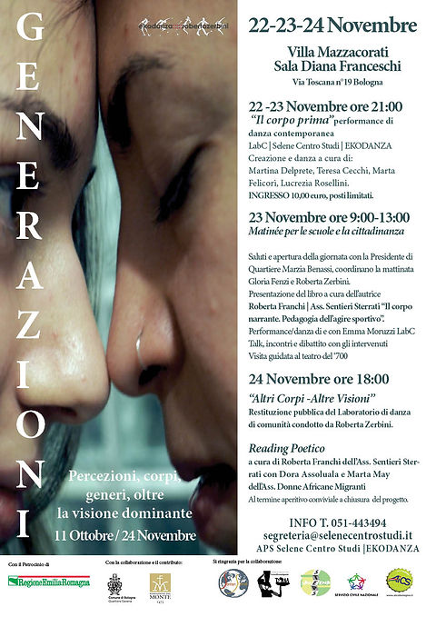 Locandina GENERAZIONI 22-23-24 Novembre.