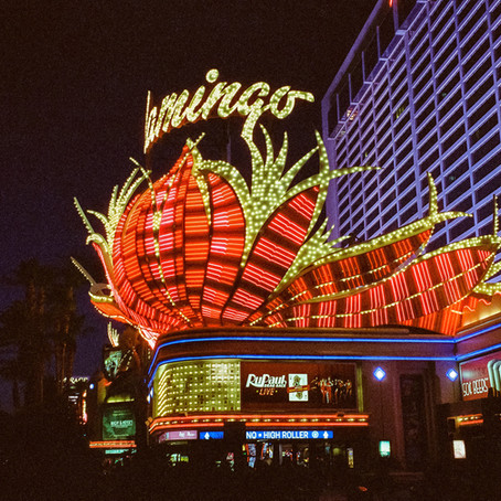 Cinestill 800t in Vegas
