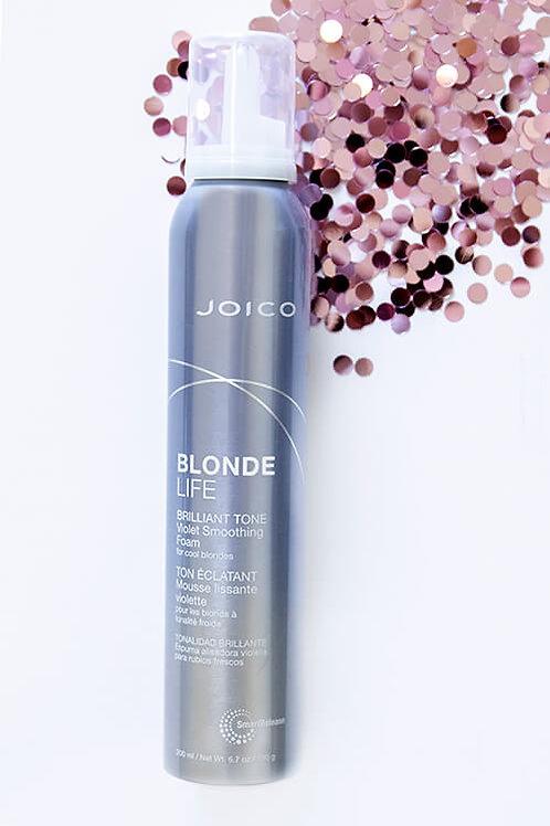 Joico Blonde Life Brilliant Tone Violet Smoothing Foam