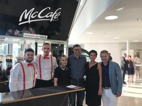 McDonald's Seenland versorgt Gäste mit McCafé zur Einweihung der Stadthalle Gunzenhausen