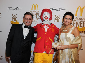 Benefiz Gala McDonald's Kinderhilfe