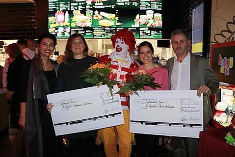 Spende Ronald McDonald Haus Erlangen