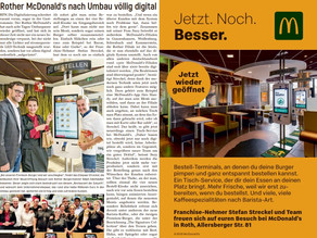 McDonald's Roth jetzt voll digital