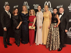 McDonald's Benefizgala 2019 im Bayerischen Hof in München