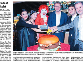 Grand Opening bei McDonald's in Gunzenhausen