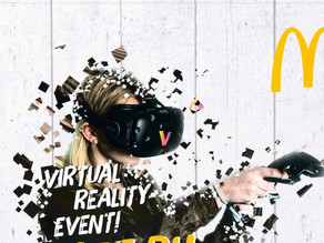Virtual Reality bei McDonald's in Gunzenhausen