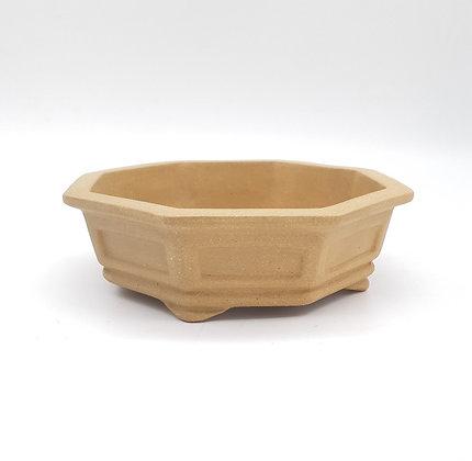 Pot octogonal pour bonsaï