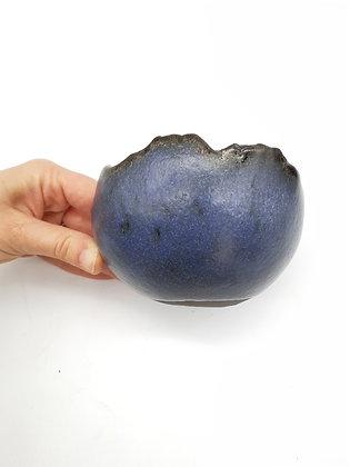 Pot à shitakusa Sabine Besnard Bleu nuit