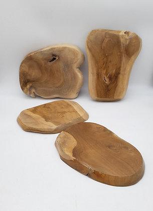 Support en bois de teck