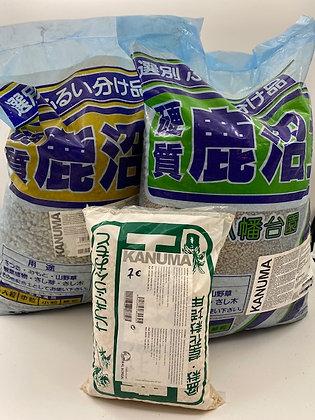 Kanuma pour bonsaïs (2 granulométries disponibles)
