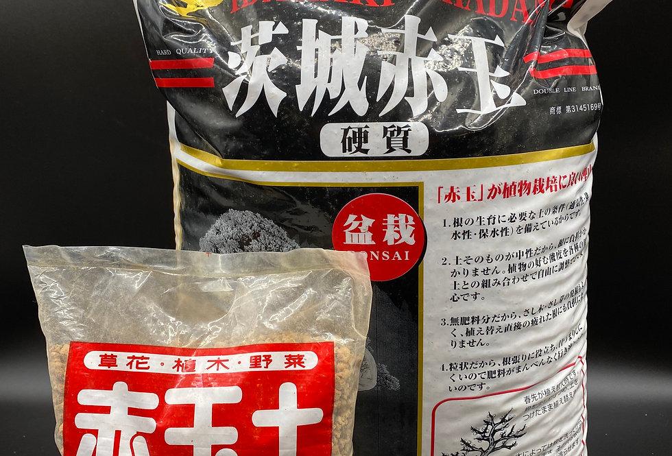 Akadama pour bonsaïs   (3 granulométries disponibles)