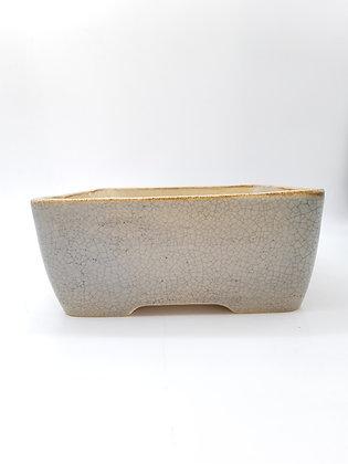 Céramique Sabine Besnard Gris craquelé