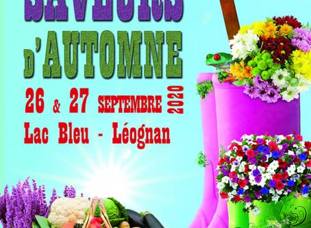 Jardins & Saveurs d'automne à Léognan                 26 & 27 septembre 2020