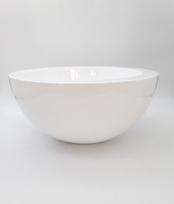 Coupe Bowl Blanc finition Glossy