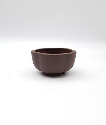 Pot rond / fleur non émaillé