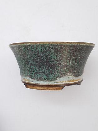 Céramique Sabine Besnard Vert Lichen