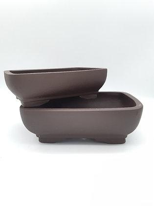 Pot rectangulaire pour bonsaï