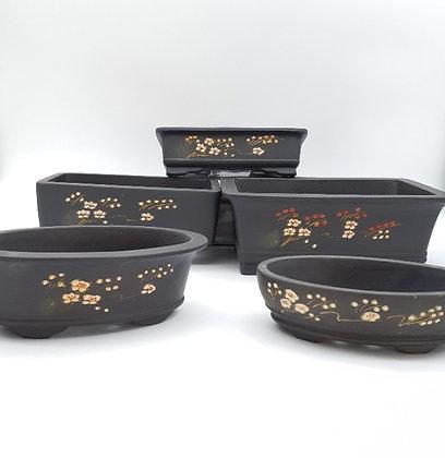 Pots céramique non émaillés pour bonsaïs