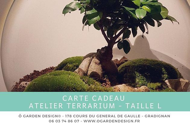 Carte Cadeau Atelier Terrarium Taille L