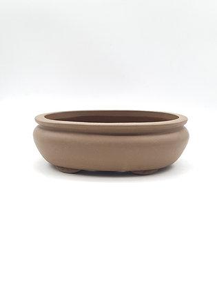 Pot ovale non émaillé