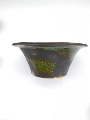 Céramique Sabine Besnard Vert Olive/gris