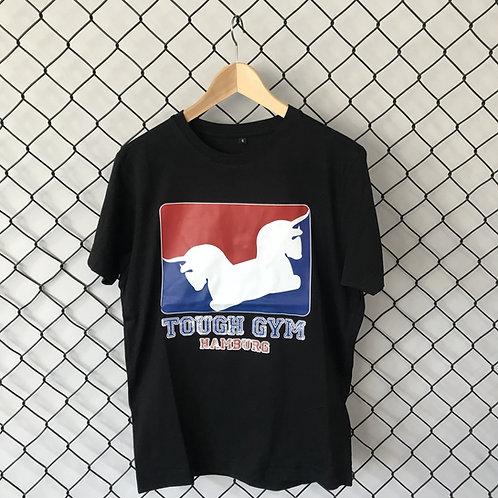 "T-Shirt ""Oldschool"" schwarz"