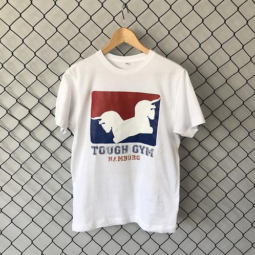 "T-Shirt ""Oldschool"" weiß"