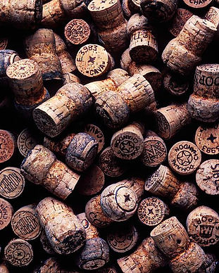 Assorted champagne corks by Garry Gay.jp