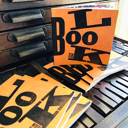 The Wood Words Letterpress Digital Look Book