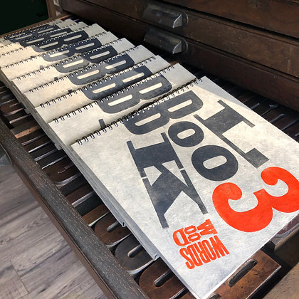 The Wood Words Letterpress ORIGINAL Look Book NO.3