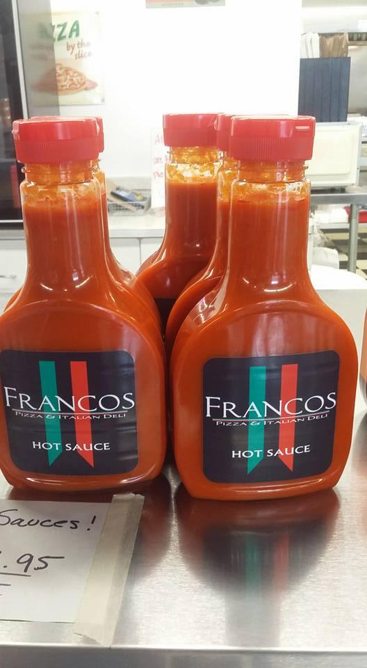 francos hot sauce
