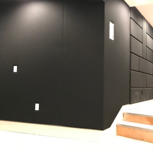 Acoustic fabric walls