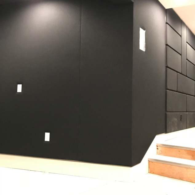 Acoustic fabric walls