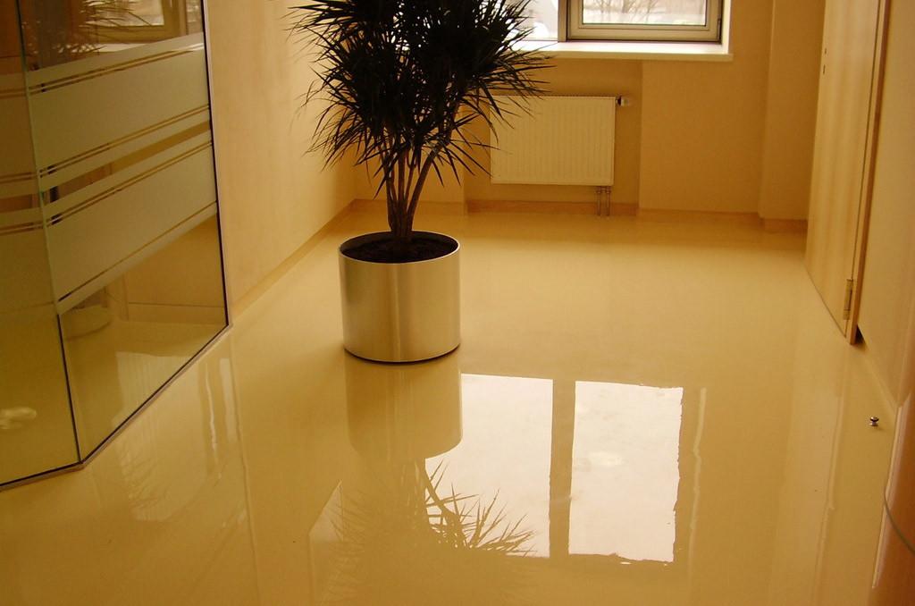 High gloss Epoxy floor