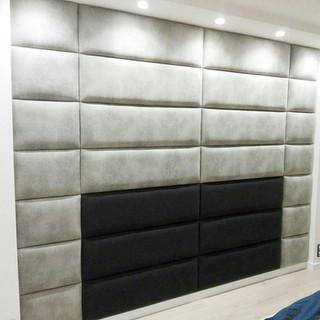 Living room wall panels