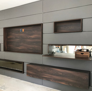 Acoustic Leather wall