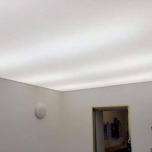 Transperent ceiling with LED light