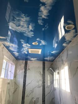Blue sky ceiling| CeilDex print
