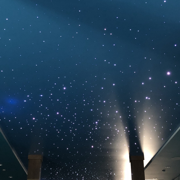 Ceildex Star fiber optics starry ceiling