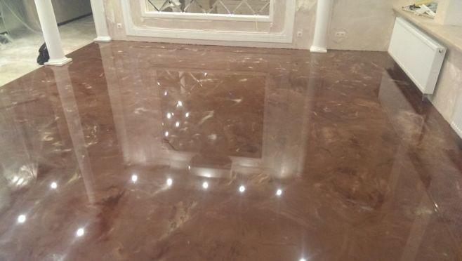 Marble effect Epoxy floor
