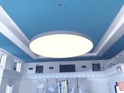 8feet round soffit light fixture