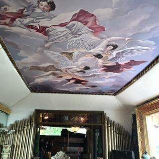 Printed ceiling