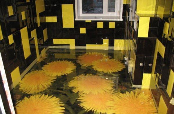 3D printed Epoxy floor