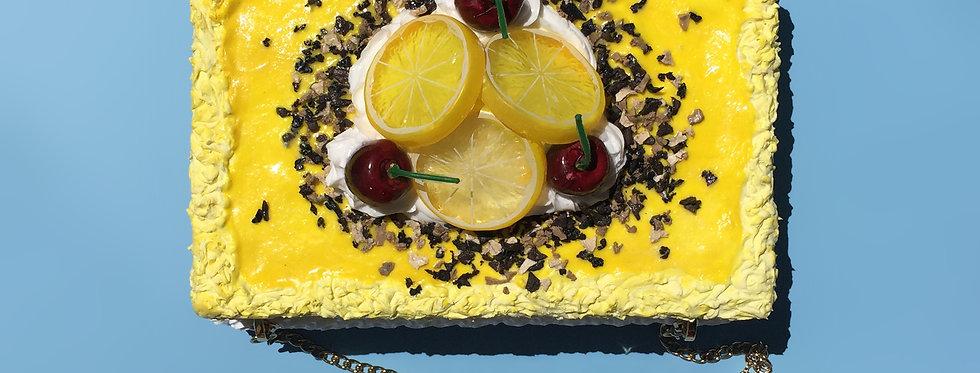 Bolso pastel de limón