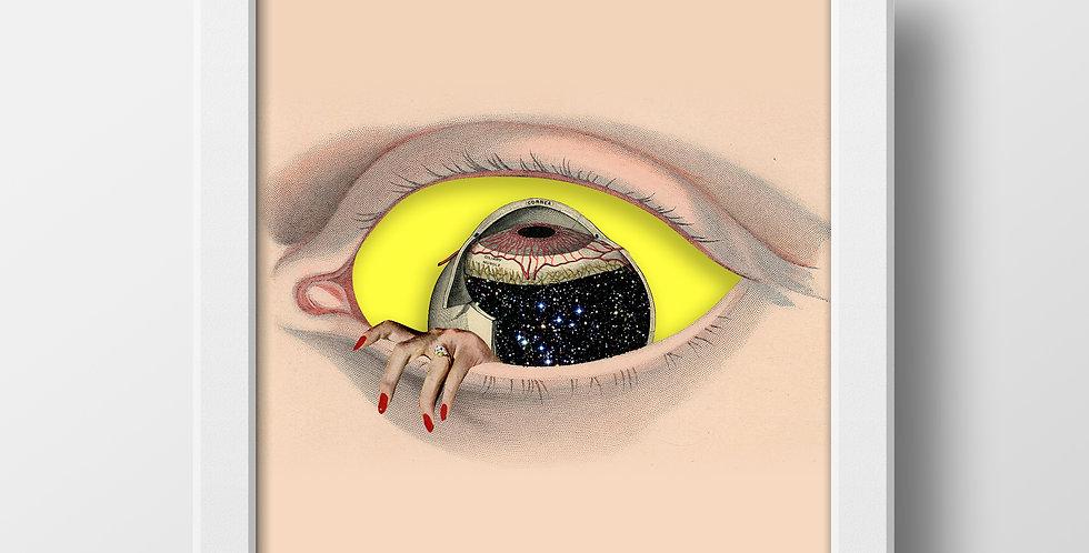 Cuadro «Box Eye» 3D