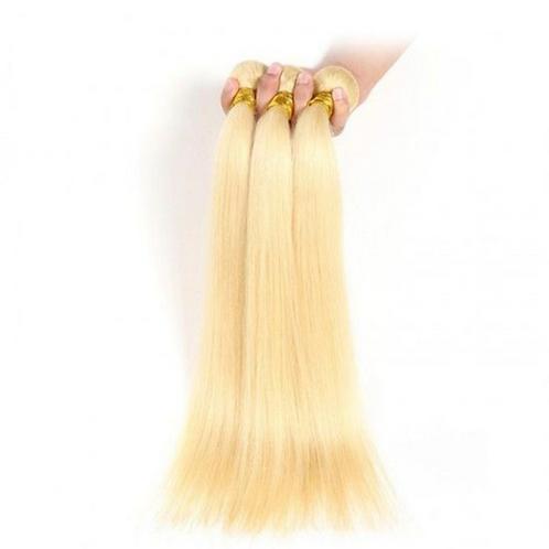Bella - 613 Honey Blonde  Brazilian Human Hair Bundle