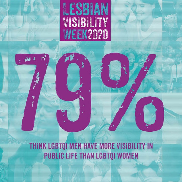 LGBTQI MEN HAVE MORE VISIBILITY